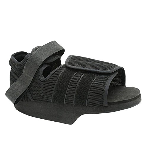 Medically Approved: Post-Op Heel Weight Bearing Shoe - Supplied to NHS for Patients to offload Weight to Forefoot Region (Med: (UK Shoe: 5-7))