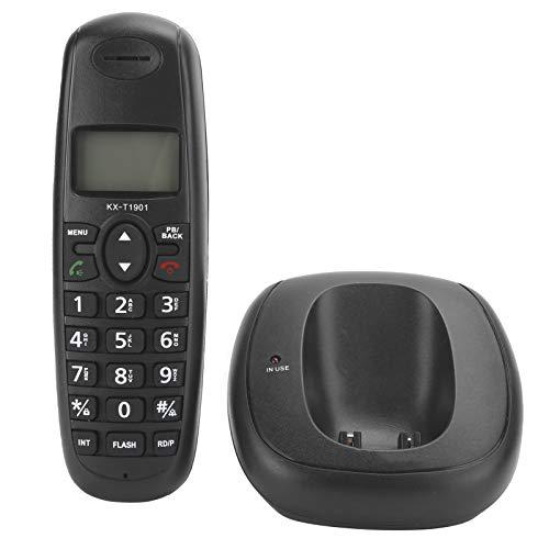 Goshyda Teléfono doméstico, Pantallas LCD domésticas Sistema de confrontación DTMF/FSK Línea Fija, para hogares, oficinas, Empresas, hoteles