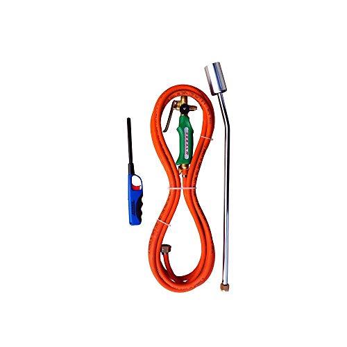 2EBALM 3760113030475 Ecoflam +, Noir/Orange, 50x10x10 cm