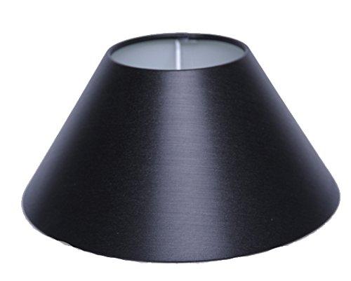 Lampenschirm für Tischleuchte in Rund Chintz Schwarz TL 25-9-15