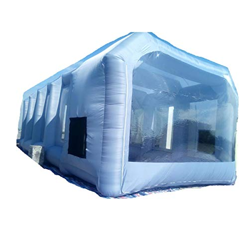 Inflatable Spray Booth Custom Tent Car Paint Booth Inflatable Car ((26x13x10Ft)