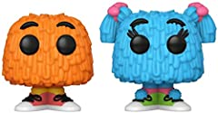 From McDonald's, Blue and Orange Fry Guy 2 pack, as stylized Funko Pops! Characters stand about 3 inches tall and come in a window box display. Make sure to collect all Mcdonald's figures by Funko, collect them all!