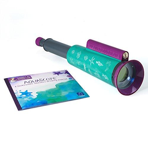 Learning Resources- Visore Acquatico AquaScope e diario delle Meraviglie sottomarine Nancy B s Science Club, Colore, 5352
