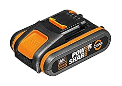 20V 2.0Ah battery pack Powershare - compatible with WORX 20V tool range Heavy-duty high power battery cell Model number: WA3551.1