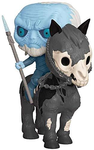 Byrhgood Juego de Tronos Pop Figura: Montado en Caja Blanca Walker Adornos de colección de Vinilo Figura 10 CM