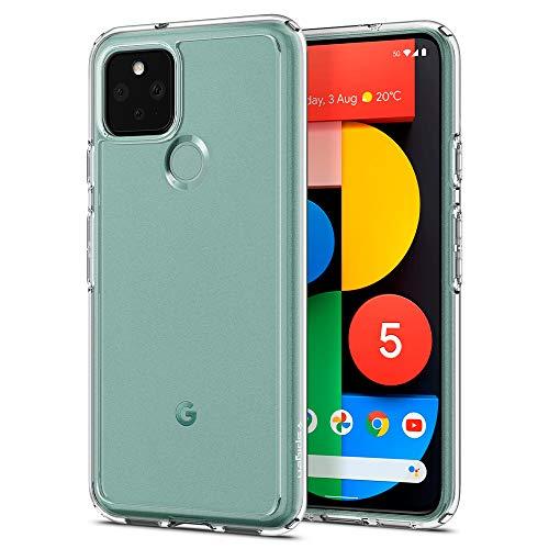 Spigen Ultra Hybrid Works with Google Pixel 5 Case (2020) - Crystal Clear