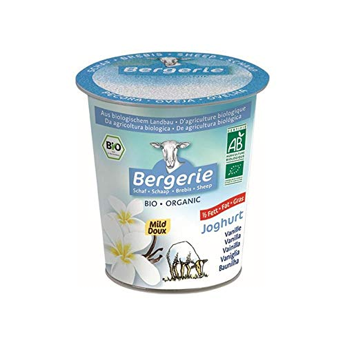 Bergerie Bio Schafjoghurt Vanille fettarm 2,7 % 125 gr