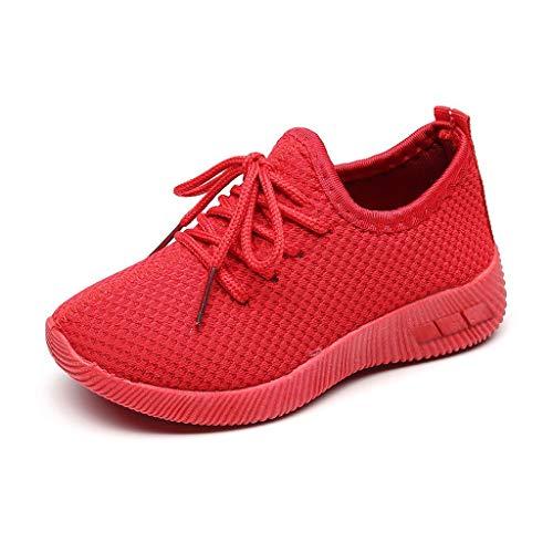 Schuhe Unisex Damen Herren Laufschuhe Sportschuhe Gym Turnschuhe Freizeitschuhe Atmungsaktiv Running Sneaker Low Top Schnürschuhea Mesh Outdoor Shoes Yuiopmo