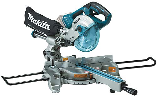 Makita DLS714NZ Twin 18V (36V) Li-Ion LXT Brushless 190mm Slide Compound Mitre Saw - Batteries and Charger Not Included