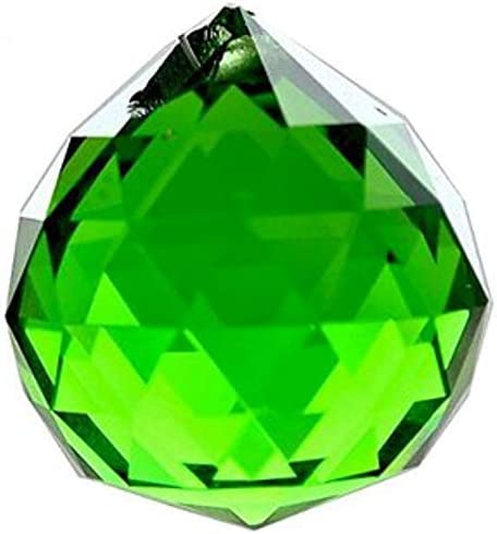 20mm Green Crystal Ball Prisms Spring San Diego Mall new work one after another