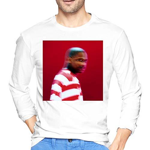 YG Still Brazy Cool Men's Workwear Jersey Long Sleeve T Shirt 100% Cotton Printing Tee White XX-Large