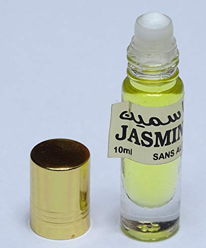 1 aceite perfume jasmin árabe- sin alcohol - 10 ml - roll on