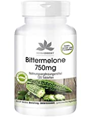Bittere meloen 750mg - hoge dosering - veganistisch - 120 tabletten - met chroom