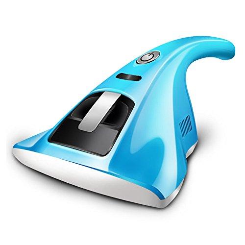 ANHPI Matratzen-Staubsauger, Handstaubsauger, UV-Licht-Milbensauger, Kabellos, Antibakteriell, Ideal Für Allergiker und Tierhalter,Blue