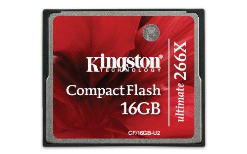 Kingston 16Gb Ultimate Compactflash 266X