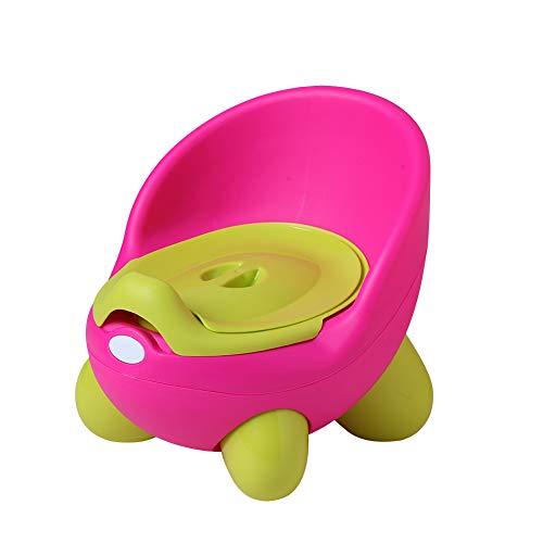 DoubleBlack Vasino per Bimbi Bimbo Sedia Vasetto Toilette con Coperchio per Bambina e Bambino