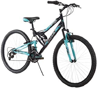 Huffy 26 Inch Women's Trail Runner Mountain Bike, Black