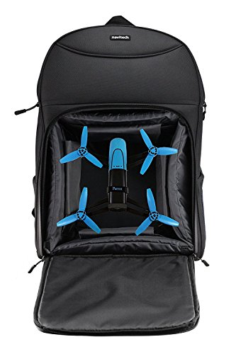 Navitech Hartschalen Reise Schulter Rucksack Backpack Bag Case Kasten für Parrot Bebop Drone ALDI