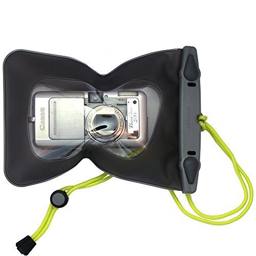AQUAPAC デジタルカメラケース 418 スモール カメラ ケース 防水 グレー B0044LXGJI 1枚目