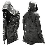 Aoten Abrigo con capucha para hombre, diseño de Halloween
