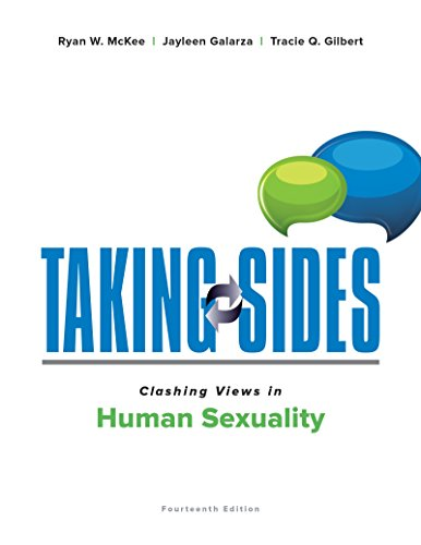 Taking Sides Clashing Views In Human Sexuality