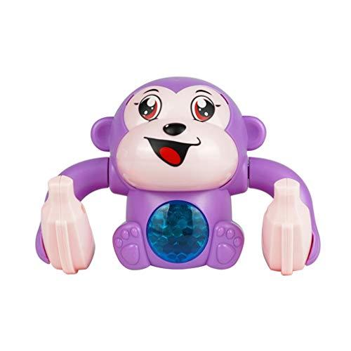 N\A Juguete educativo de control de voz juguete de control táctil de música juguete de baile juguete de música de mono balanceo juguete para bebé