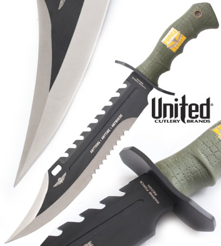 puissant RKS Diffusion UC2863 Couteau de chasse United Cutlery Camp