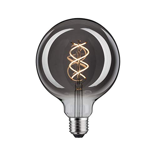 Paulmann 28597 LED Lampe Globe 4W 1879 Grand Edition dimmbar Leuchtmittel Rauchglas Spiralfilament 2700K Warmweiß E27, 4 W