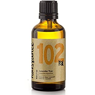 Naissance True Lavender Essential Oil (no.102) 50ml - Pure, Natural, Cruelty Free, Vegan, Steam Distilled and Undiluted - Use in Aromatherapy, Massage Blend & Diffusers - Calming & Soothing Aroma:Videolink