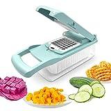 Asaph Home Vegetable Slicer Dicer - 12-in-1 Onion...