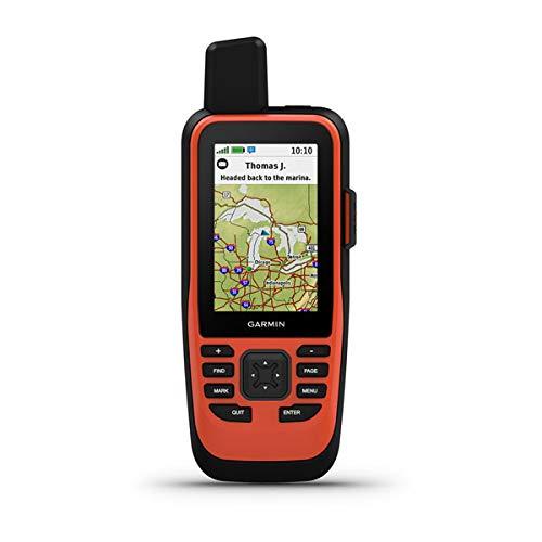 Garmin GPSMAP 86i, Floating Handheld GPS with Button Operation, Inreach Satellite Communication...