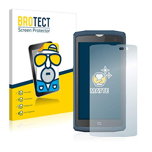 BROTECT 2X Entspiegelungs-Schutzfolie kompatibel mit Crosscall Core X3 Bildschirmschutz-Folie Matt, Anti-Reflex, Anti-Fingerprint