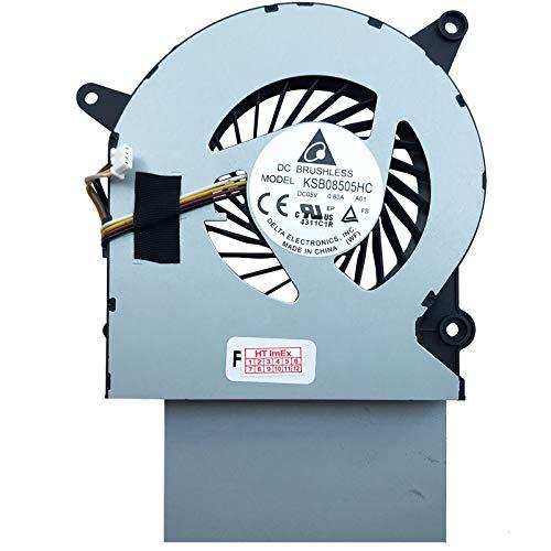 Ventilador de ventilador compatible con Lenovo IdeaCentre A540 (F0EK001YGE), A540 (F0AN002EGE), A540 (F0EL0027TA), A540 (F0EL002PGE)
