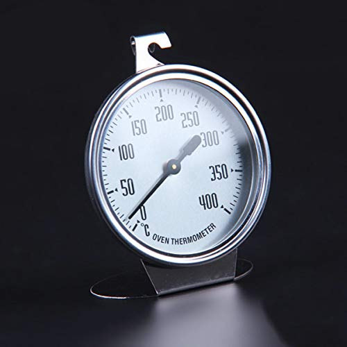 Termómetro para horno, acero inoxidable Termómetro grande para horno Termómetro de cocina Termómetro de medición Herramienta para hornear Utensilios para hornear Utensilios para hornear