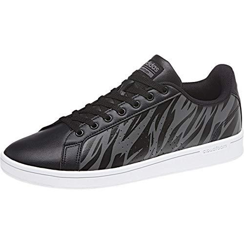 adidas Cloudfoam Advantage Clean, Zapatillas de Tenis para Hombre, Negro (Cblack/Cblack/Grefiv 000), 49 1/3 EU