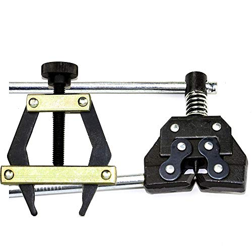 Jeremywell Roller Chain Tools Kit 25-60 Holder/Puller+Breaker/Cutter, Bicycle, Motorcycle