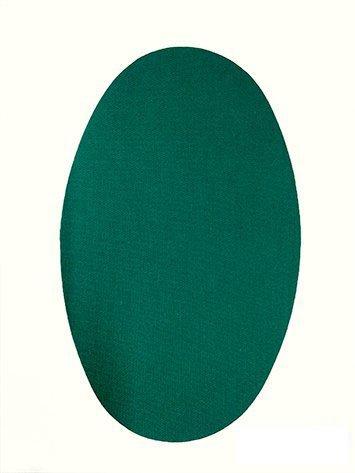 Haberdashery Online 6 Rodilleras TERMOADHESIVAS Verde Billar Color 16. Rodilleras para Proteger Pantalones