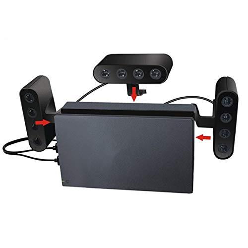 NCONCO Adaptador convertidor 3 en 1 de 4 puertos para Nintendo Switch/Wii U/PC