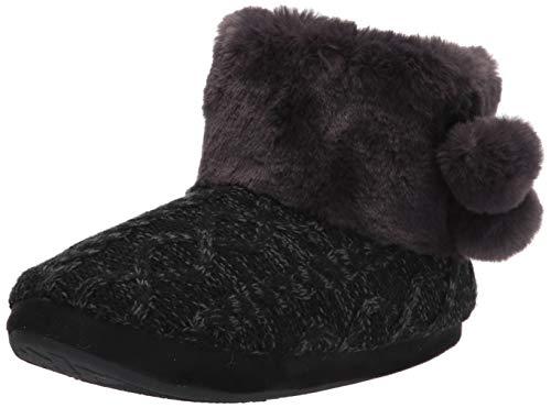 Amazon Essentials Women's Ankle Boot, Black, 8 Medium US