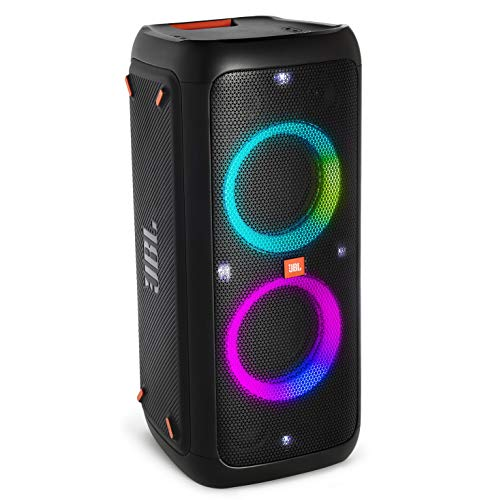 JBL PARTYBOX300 Bluetoothスピーカー ワイヤレス マイク入力/ギターアンプ入力搭載 ブラック JBLPARTYBOX300JN 【国内正規品/メーカー1年保証付き】