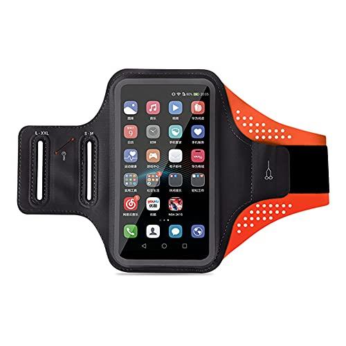 El Soporte para Correr de la Caja del Brazalete de la Caja del teléfono Celular de Iswell Resistente al Agua para iPhone Pro MAX Plus Mini (12/11 / X/XS/XR / 8/7 / 6/5) Galaxy