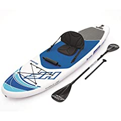 Product dimensions: 10ft. X 33in. X 4. 75in non-slip traction pad Seat with back rest Elastic cord for extra storage adjustable 85in. (2. 17M) 4 pieces aluminum oar