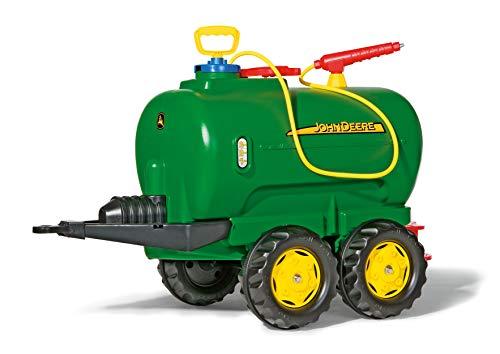 Rolly Toys rollytanker John Deere tankwagen (voor kinderen 3-10 jaar, met pomp en spuit, 30 liter, kraan) 122752