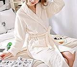 Conjuntos De Lencería para Mujerlovers Coral Fleece Robe Otoño Invierno Ropa De Dormir Cálida -Robe_7_XXL