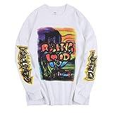 NAGRI ASAP Playboi Carti Sweatshirt Rolling Loud Hip Hop Men's Heavyweight Long...