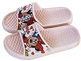 Chanclas Minnie Mouse para niñas - Flip-Flop Disney Minnie Mouse para Playa y Piscina (Rosa, Numeric_28)