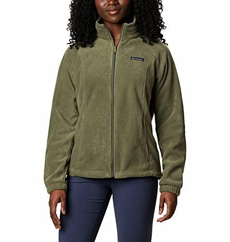 Columbia Benton Springs Classic Fit Full Zip Soft Fleece Jacket Forro Polar para Mujer