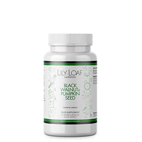 Lily & Loaf Black Walnut & Pumpkin Seed Intestinal Cleanse (90 Capsules)