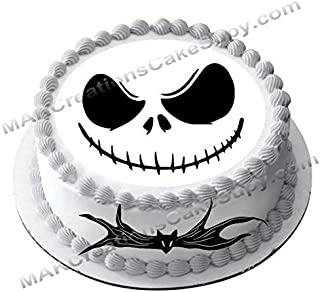 Skeleton & Bow Tie Wafer Paper Combo Decorating Sets - Cake - Cookie - Cupcakes - Brownie (Single3)