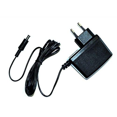 Compex Cargador 9 V-400MA-EU Unisex Adulto, Negro, 6 cm